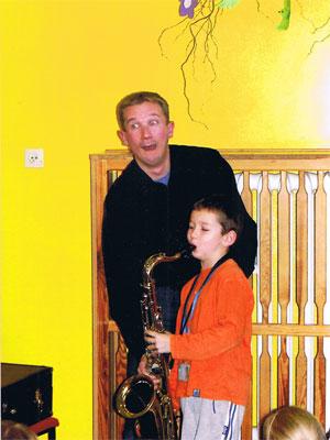 Prezentacja saksofonu